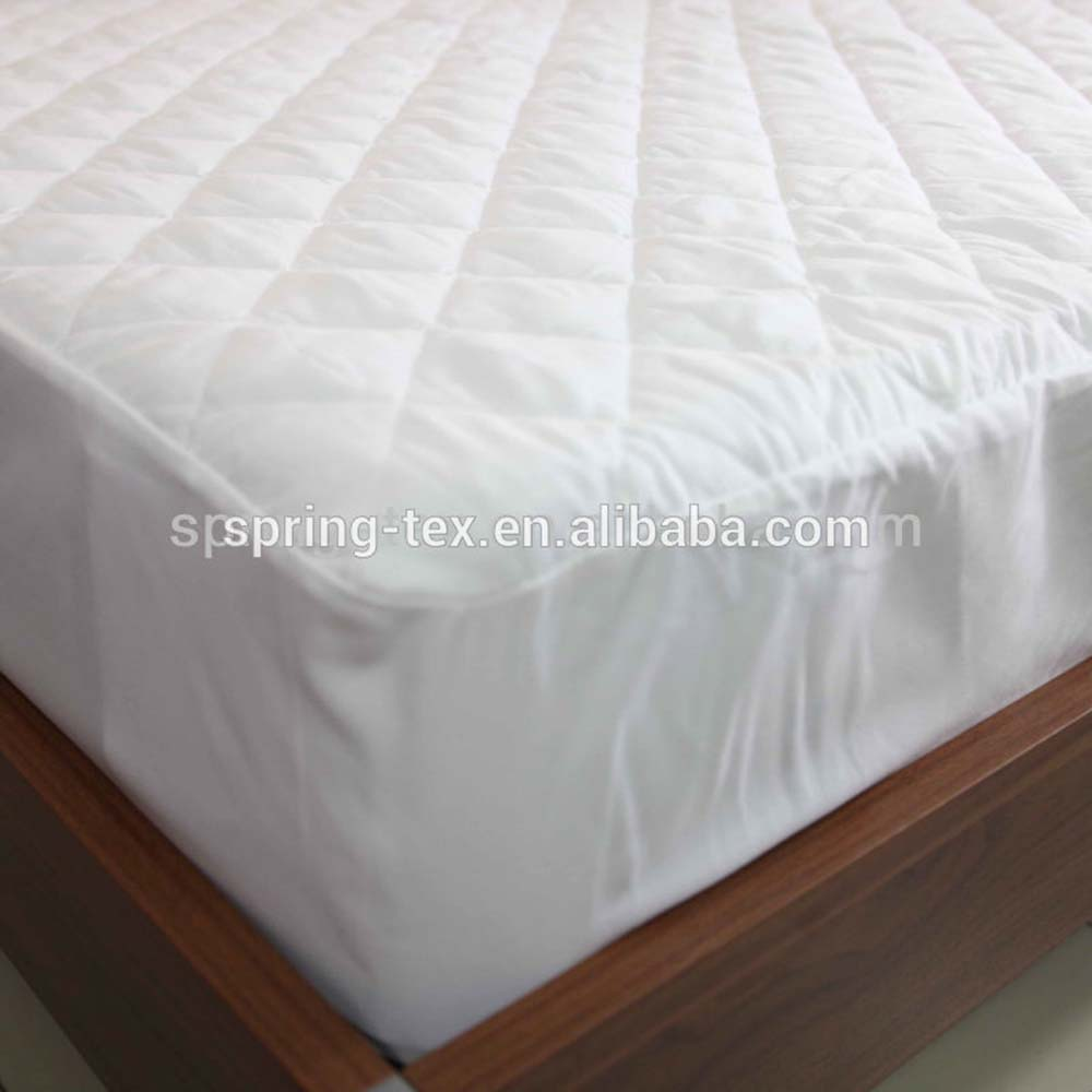 Ultrasonic wave 70GSM 100% Polyester Mattress Protector, mattress cover Wholesale Cheap Hotel Fitted Mattress Cover - Jozy Mattress | Jozy.net