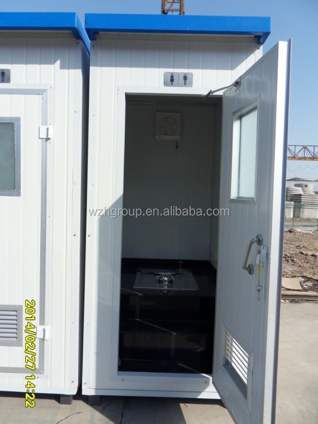 portable toilets rental for countryside / construction site
