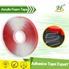 Double sided acrylic adhesive 0.6mm thick vhb foam tape for auto