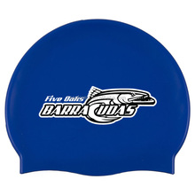 good price custom printing silicone swim cap swimming cap for promotion