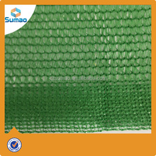 6 neddles Greenhouse Plastic Green Sun Shade Mesh Netting Fabric For Sale