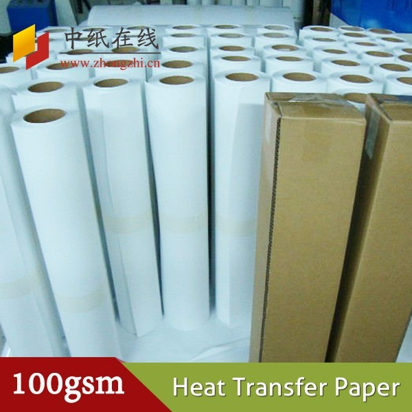 Factory price self weeding heat transfer paper for fabric