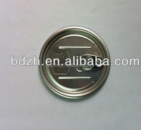 Best price golden or white beverage easy open tin can lids