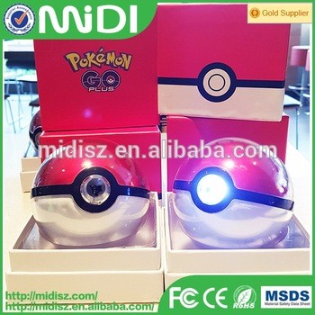 2016 Hot Portable Pokemon power bank 10000mAh with USB Eternal Quality Choice