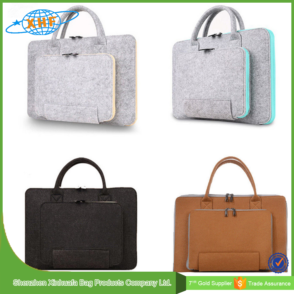 2016 New Design Felt Laptop Bag Made In China