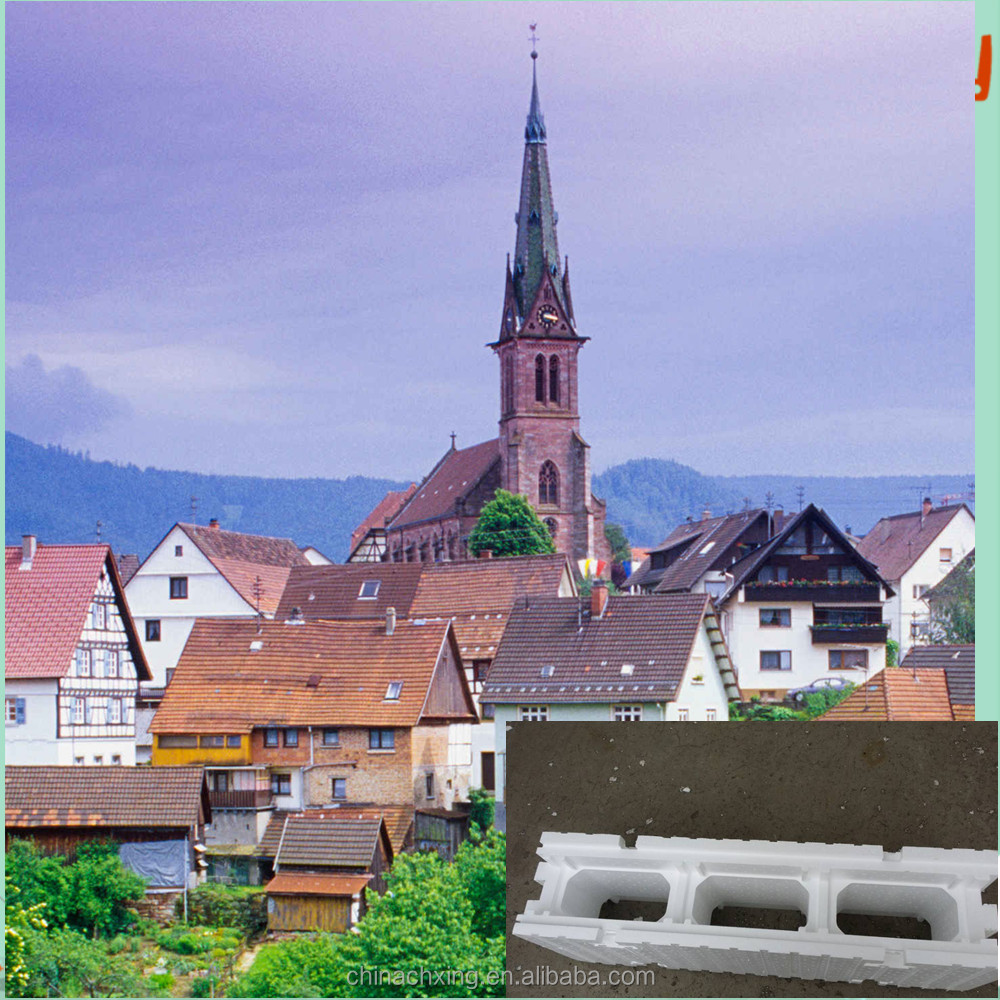 eps material ICF foam block has long service life construction foam board