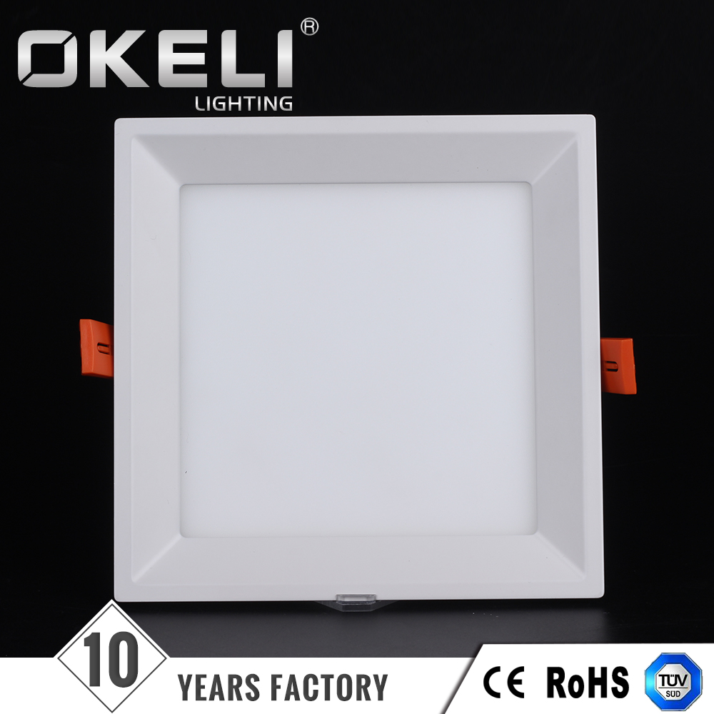15w SMD wall mounted super bright slim led ceiling panel light for kitchen