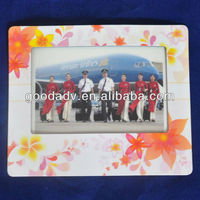 Newest photo insert mouse pad/EVA photo frame mouse pad/light fancy shape mouse pad