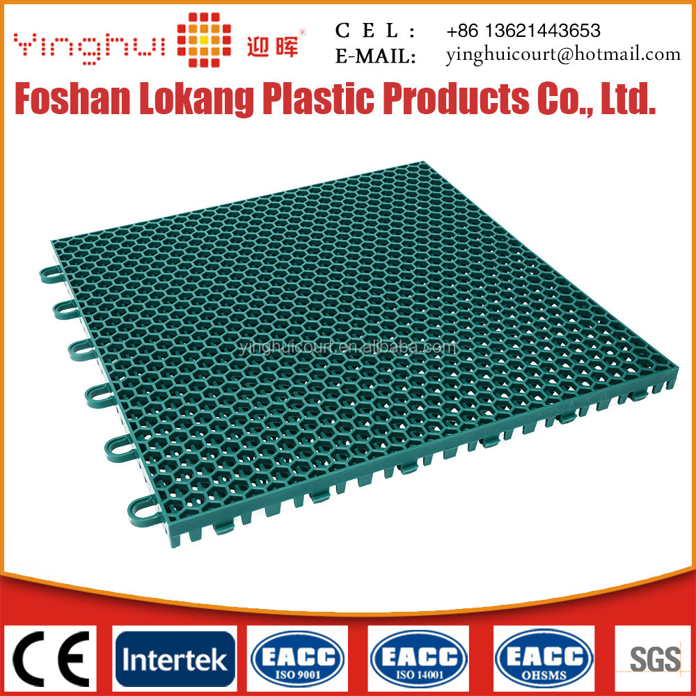 O-01 Outdoor Plastic Basketball Court Flooring Cost