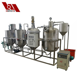 Decolorization, bleaching, deodorization, and dewaxing crude oil refining machine/coconut oil refinery machine