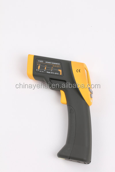 Direct YH65 Temperature Instruments & Double LCD Display Digital Infrared Thermometer Gun With Data Hold & Digital Temperature