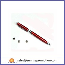 Promotional New Fashion Led Metal Pen