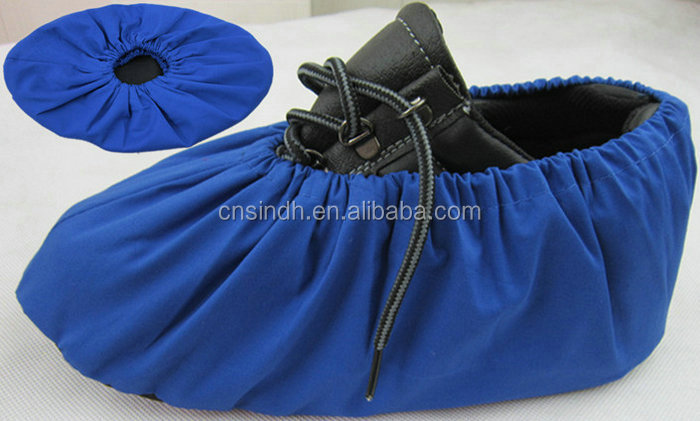Custom Breathable Excellent Tensile cotton Fabric Disposable Shoe Cover