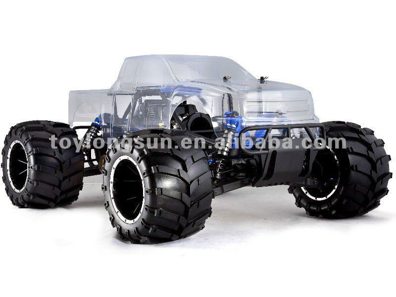 RC Model Huge Size Gas powered 4x4 rc trucks for sale