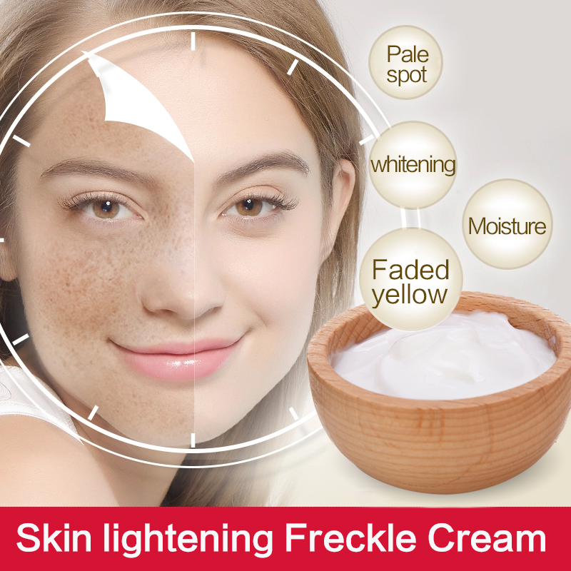 OEM/ODM Supply private label skin care facial whitening cream of instant skin whitenining cream