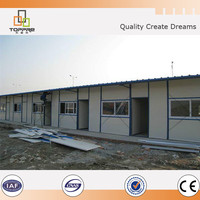 Japanese style easy assemble strong steel quakeproof prefab house