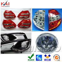 High precision Customized OEM ODM auto lamp mold rapid prototype car LED light cnc machining with plastic