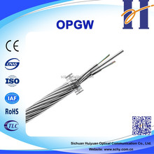 4 core OPGW Fiber Optic Cable Composite Overhead Groud Wire with Optical Fibers
