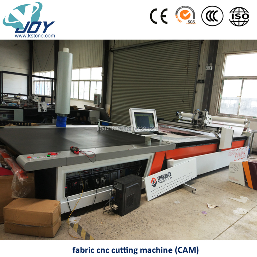 Automatic CNC Leather Cutting Table Fabric Cutter