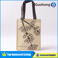The new stylish silk screen printing custom non woven eco bag, eco bag