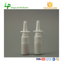 Medical Grade HDPE 10ml Nasal Spray Plastic Bottle