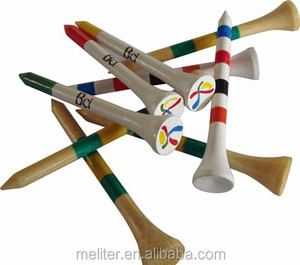 Mixed Colours OEM Logo Golf Tees