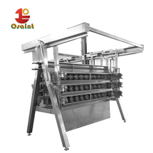 a shape chicken plucker machine for poultry factor