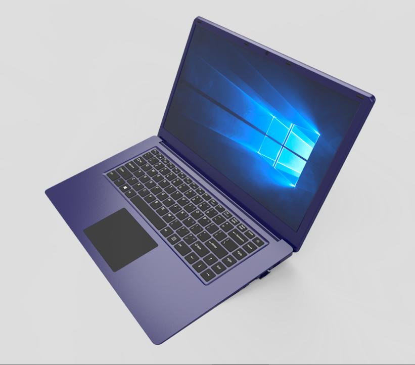 NEWEST wholesale 15.6 inch laptop computer 10000mAh 2+32GB Intel Celeron N3350 netbook support RJ45