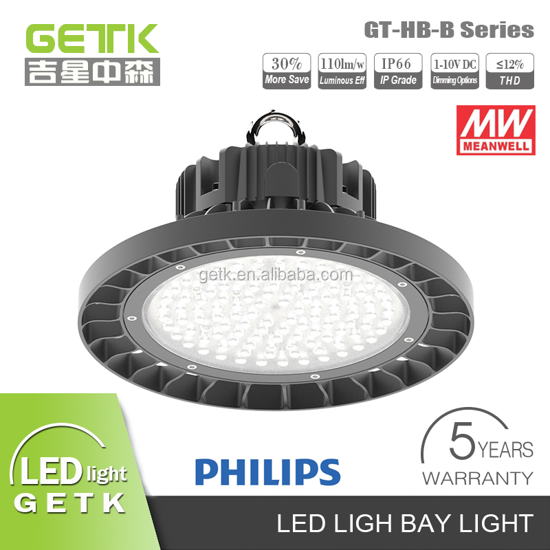 High Quality Dimmable 400w bulbs replacment to led,100w 120w 150w ufo led high bay light, Led SMD led high bay