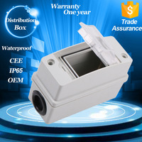 Factory Price Abs Waterproof Outdoor Enclosure Ip55 3 Way Electronic Distribution Box