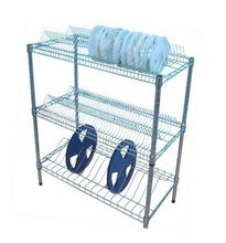 2014 NSF Heavy Duty Small Steel Closet Wire Shelving in Chrome