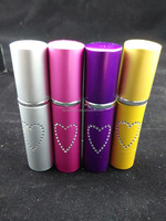 wholesale 10ml self defense lipstick pepper spray for lady