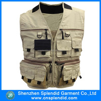 Custom high quality 100 canvas men unusual waistcoats