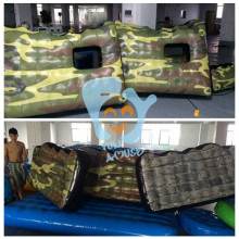 HOT SALE cheap inflatable paintball air field