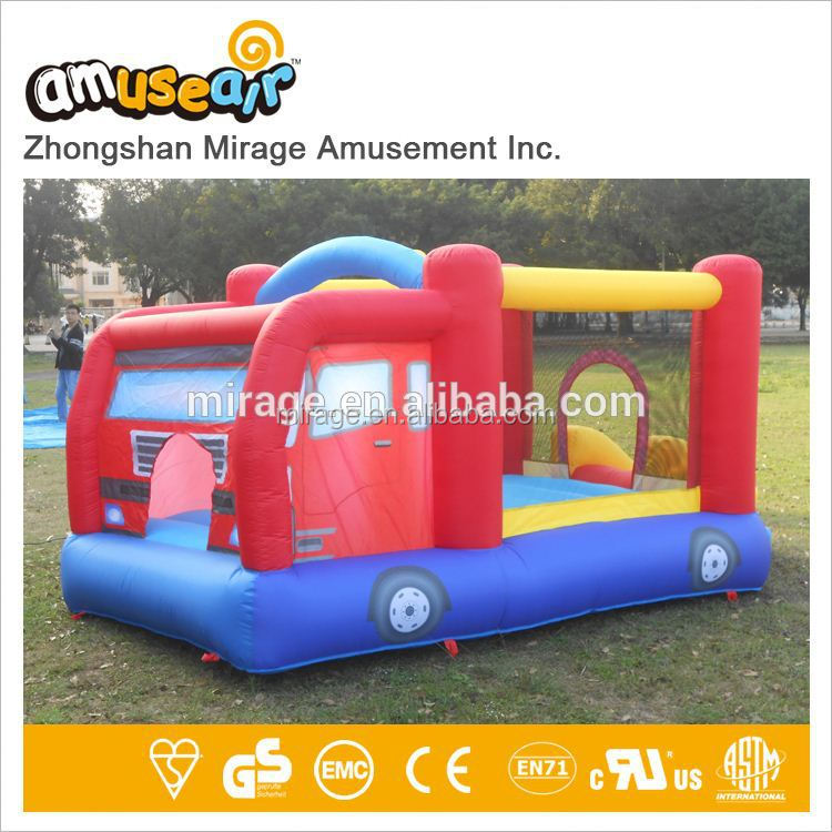 Indoor Football Inflatable Trampoline Bouncers For Children Kids