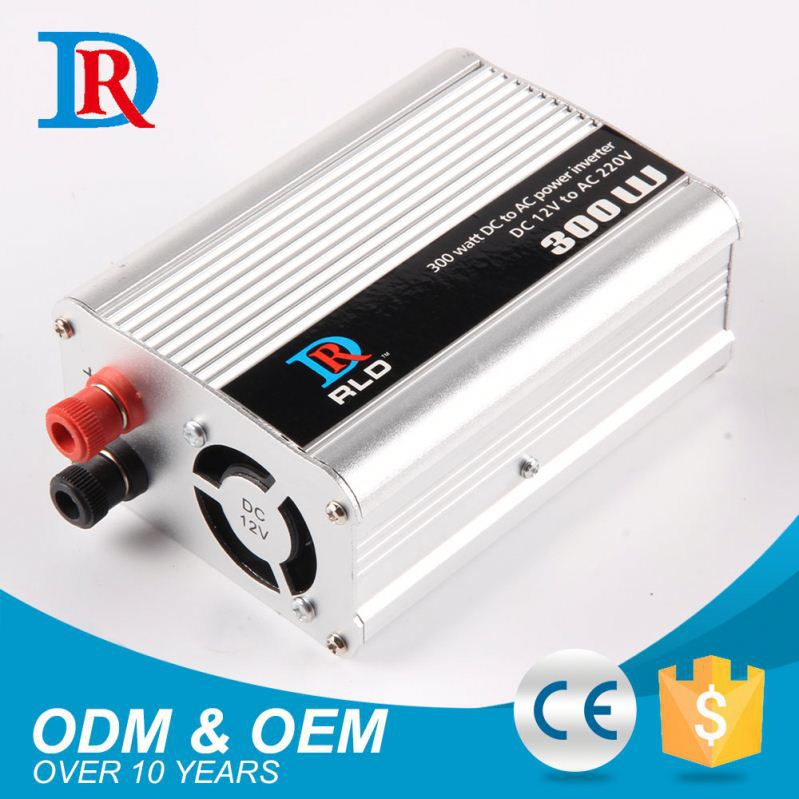 Hot Sale Modified Sine Wave Car 300W Dc12V To Ac220V Power Inverter