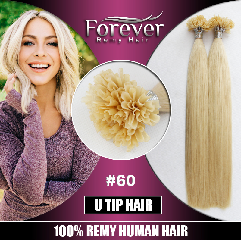 Forever new premium 28inch wholesale 60 color chinese virgin fashion 1g u tip italian keratin prebonded hair extension