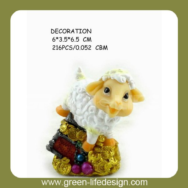 Promotion sheep cartoon character
