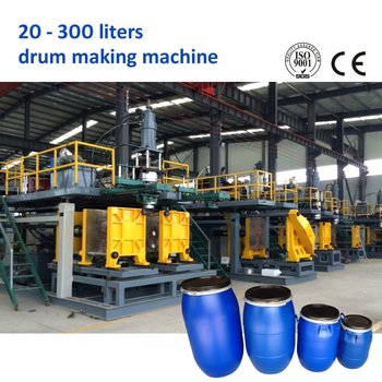 200L 220L HDPE L ring drum blow molding machine