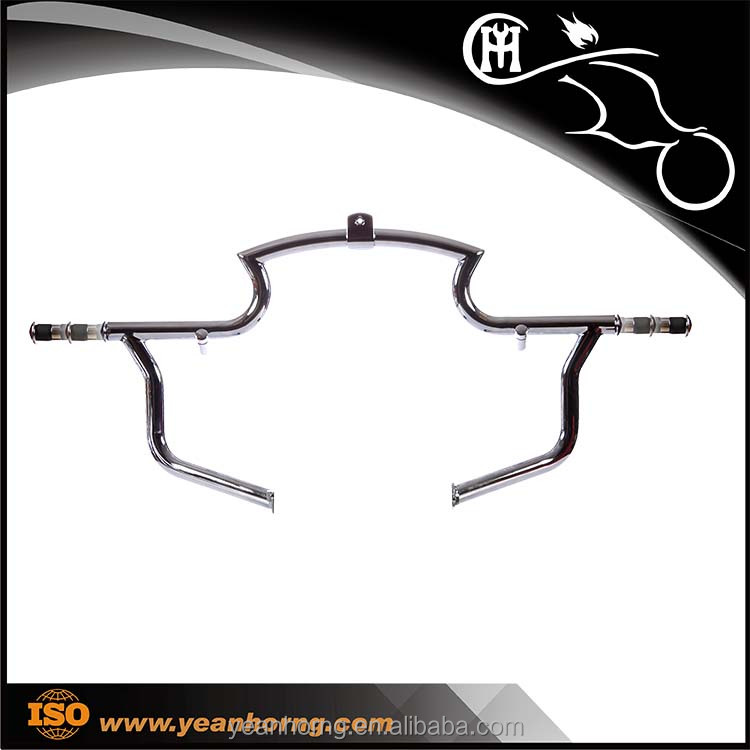 YH321RKF01 Chrome Motorcycle Highway Bar with pop-up function for Harley Honda Kawasaki YAMAHA