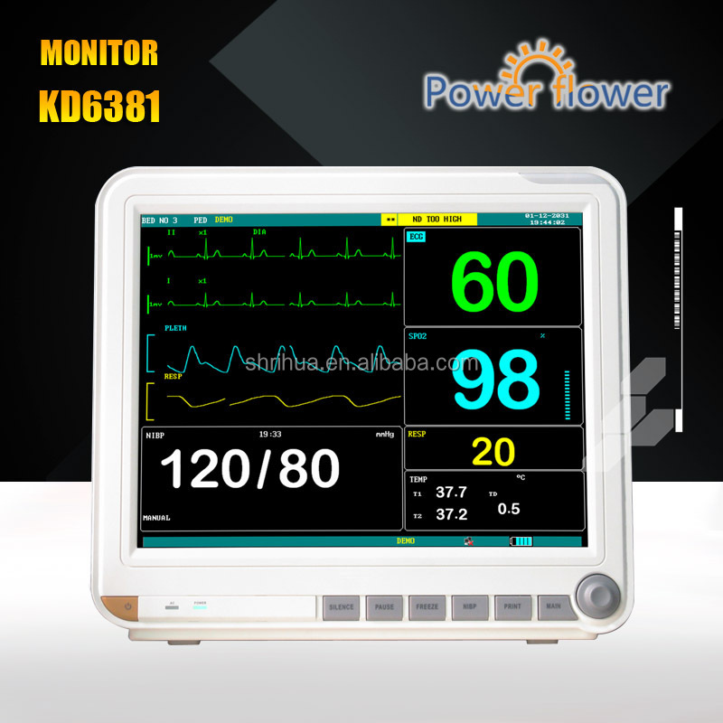 Factory Direct multi parameter patient monitor With CE ISO