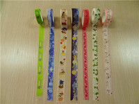 custom print decorative japan washy cupcake wrapper tape