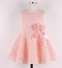 Wholesale 2016 China Supplier Girls Children Lace Dresses Of Kid Clothes