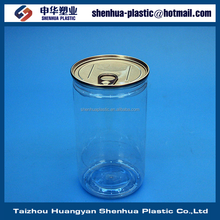 680ml plastic ring-pull can 680g 23oz clear PET can