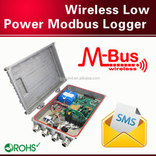 Wireless Low Power data collector modbus water pulse counter gprs data logger thermal motion sensor