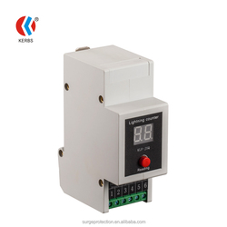 lightning surge arrester current counter