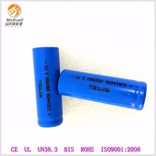 Lithium ion rechargeable battery manufacturer li-ion 14430 3.7V 650mAh cylinder battery for small electronics like solar lights