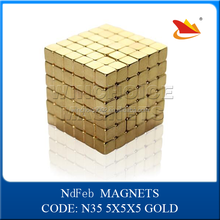 Amazon hot sale Neo magnetic cubes magnet block 216 pcs in tin box