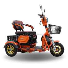 New cheap three wheel adult motorcycle electric driving type pedal rickshaw electric scooter