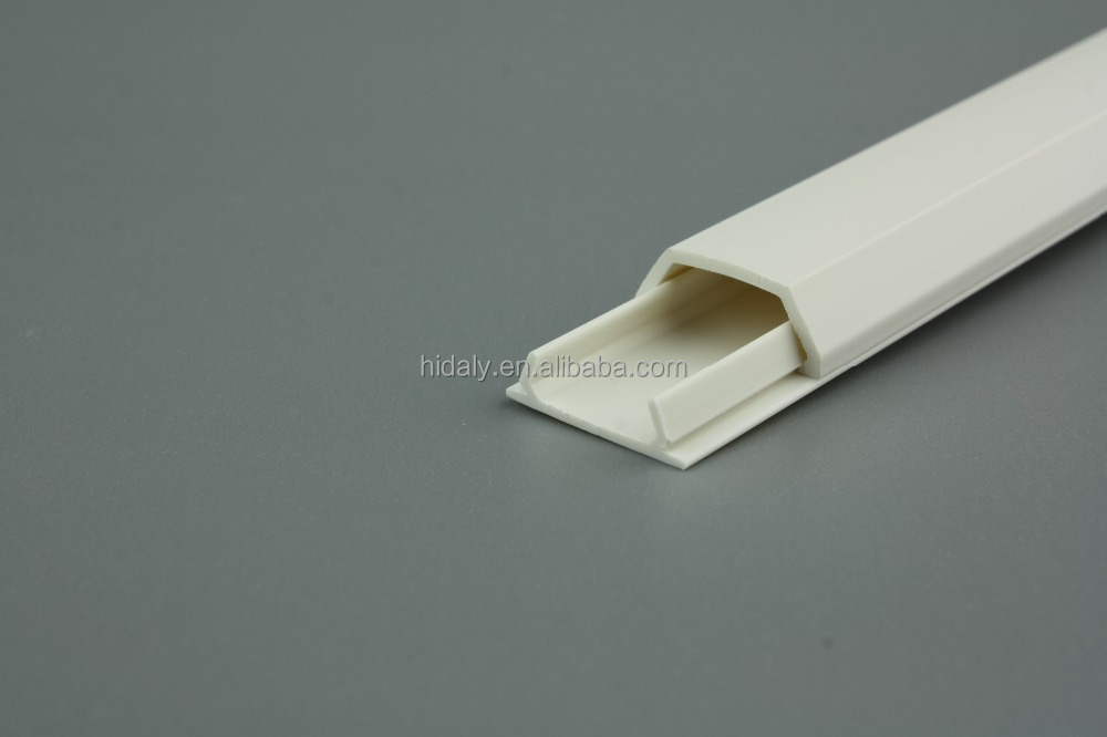 PVC Ceiling Telephone Cable Cover Flexible Duct Plastic Trough